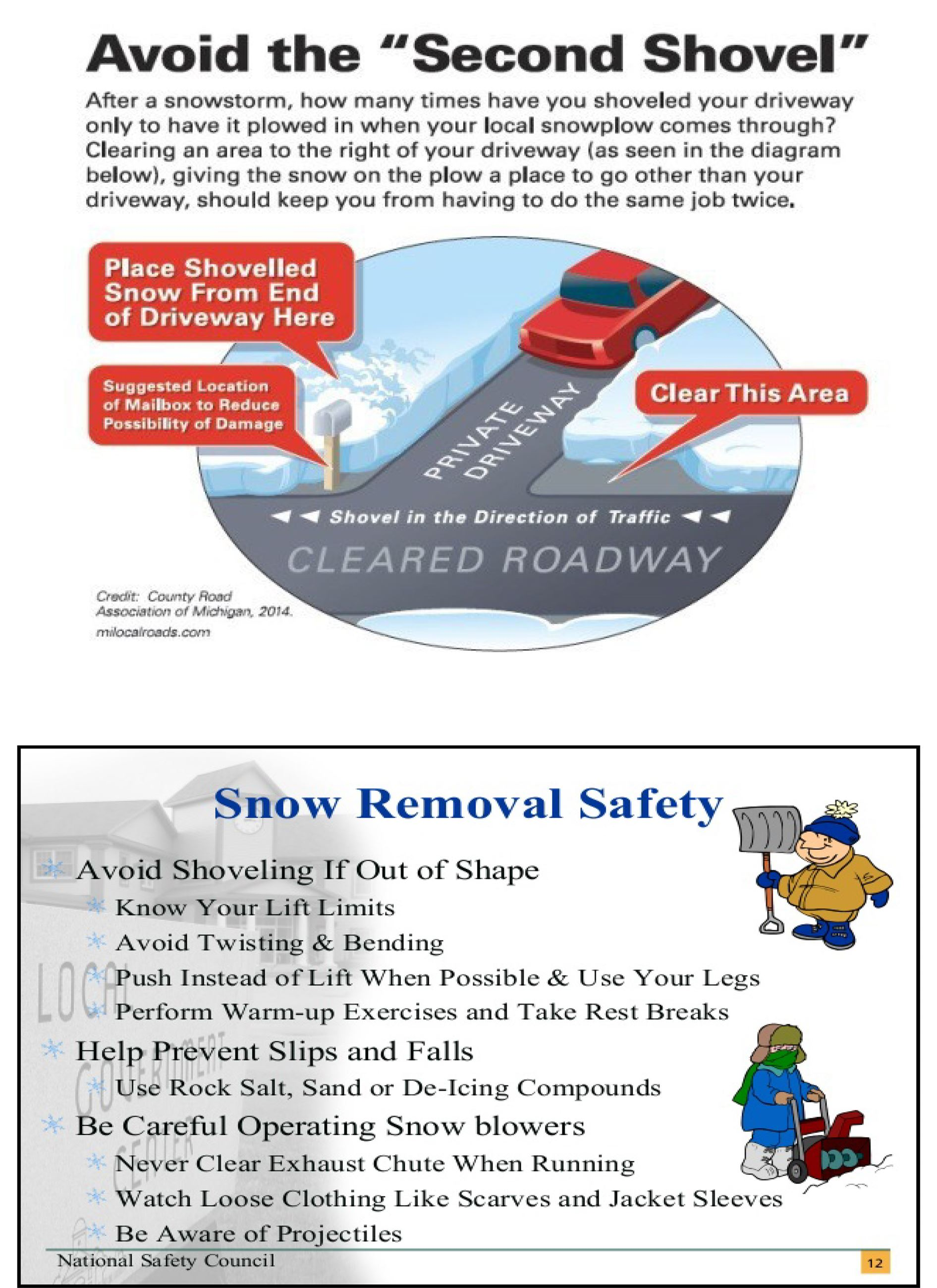 safety in snow